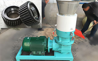 400-electrical-pellet-mill-machine